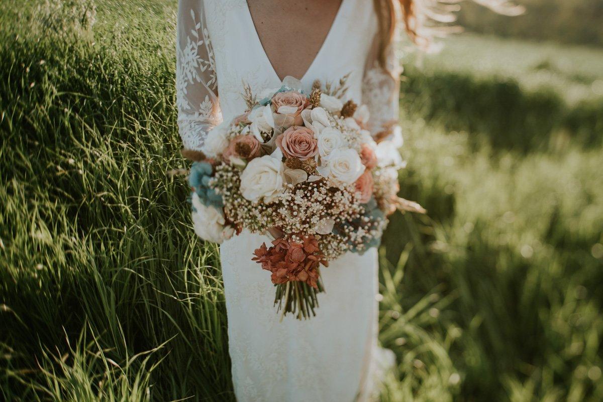 ramo de novia pinterest