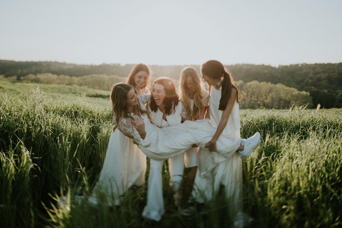 damas de honor boda en Girona