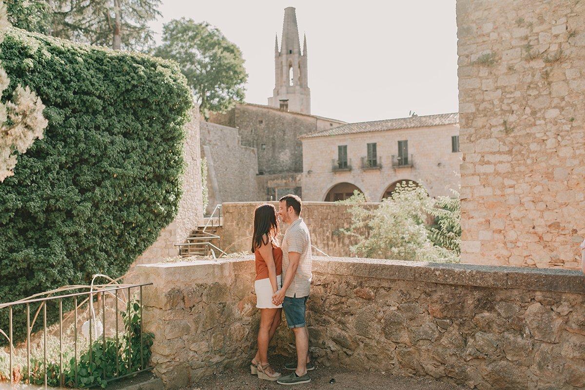 Sesión pareja natural en Girona