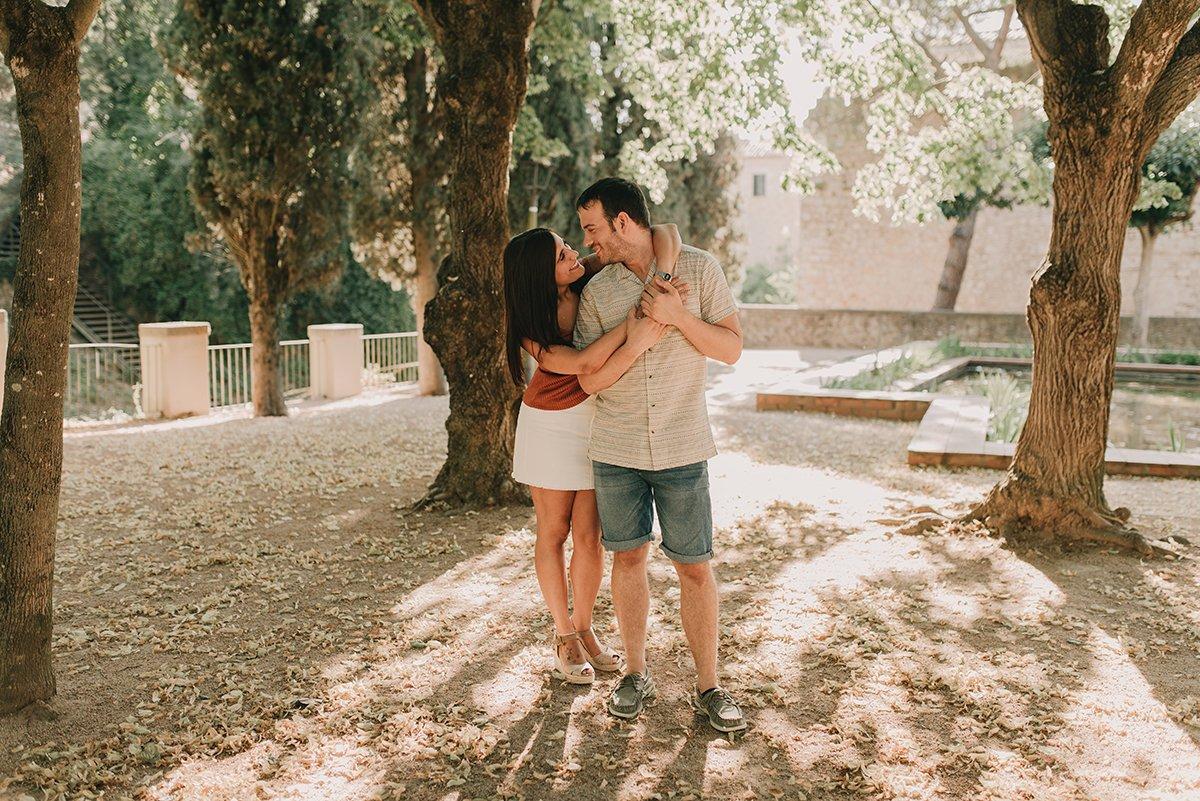 sesión pareja Girona
