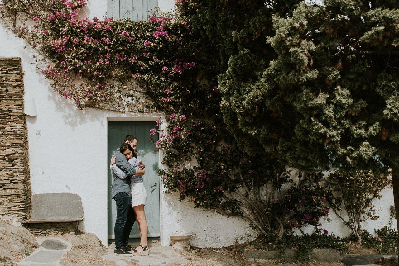 pareja en Cadaqués