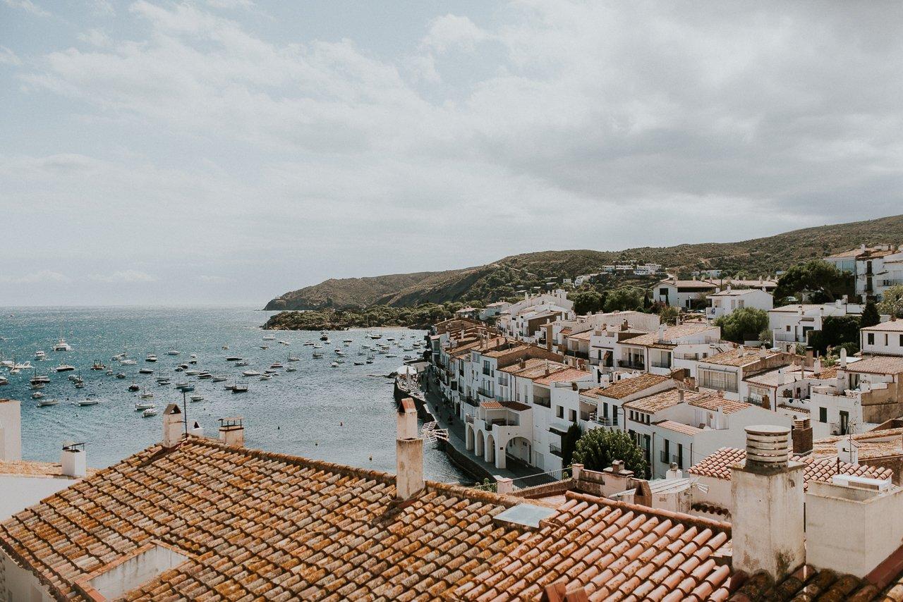 vistas pueblo Cadaqués