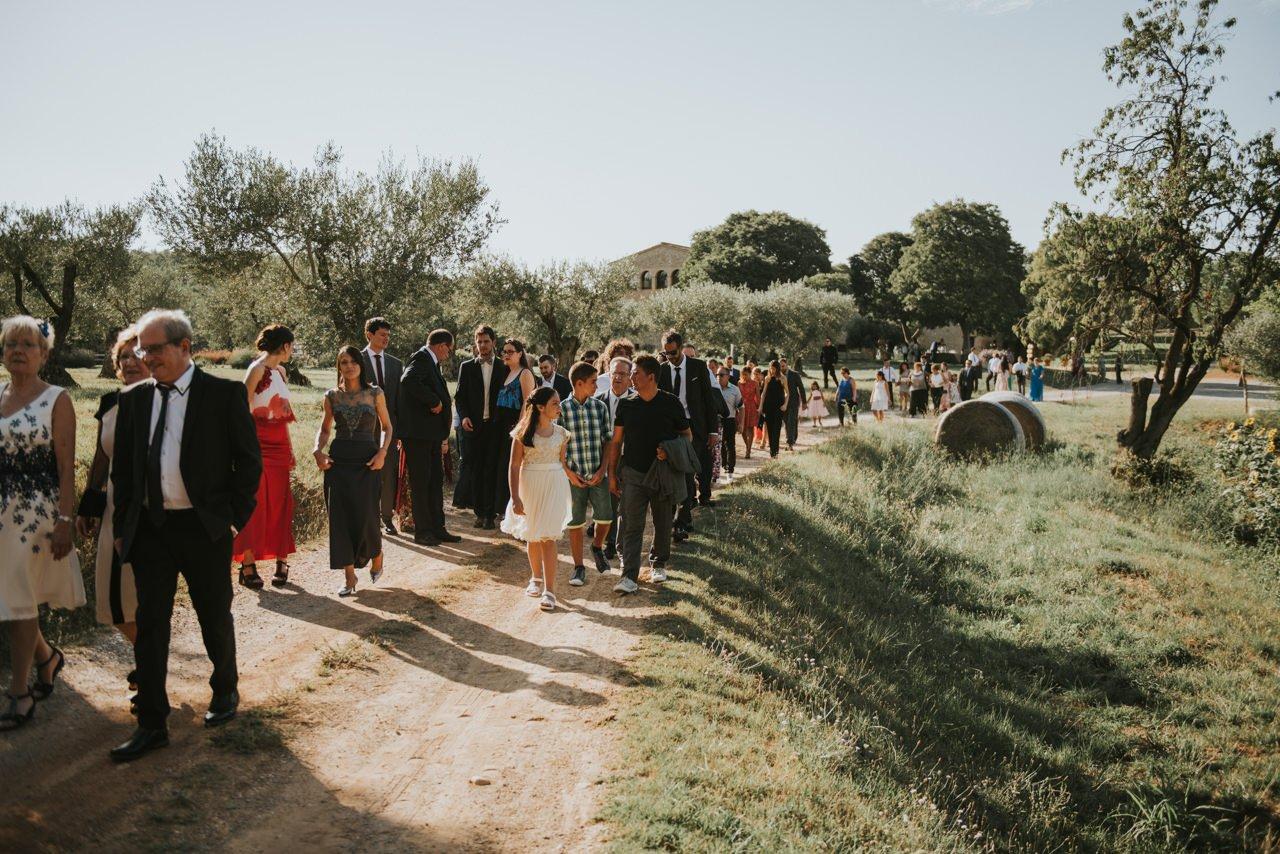 ceremonia religiosa en el exterior