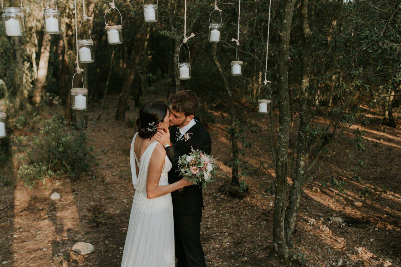 boda en una masia
