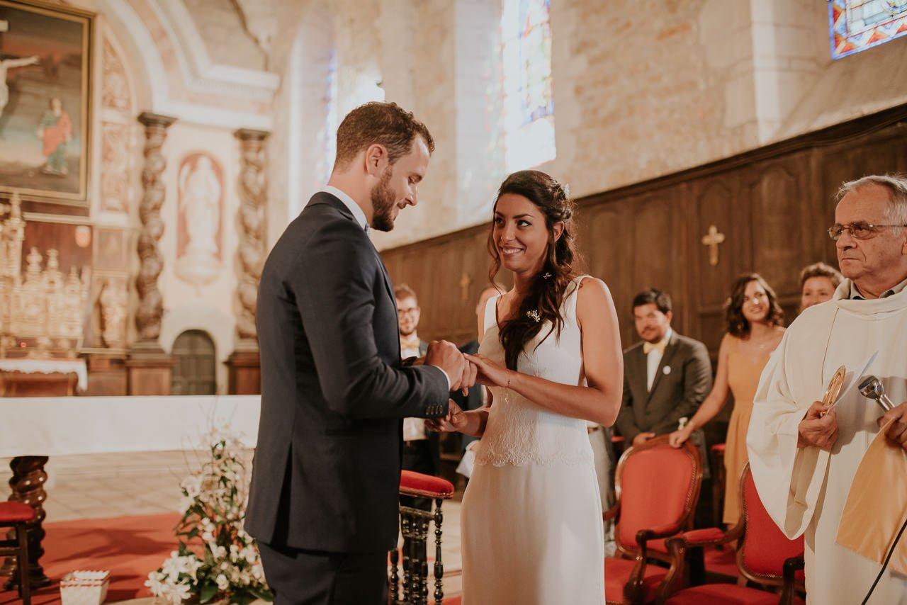 boda religiosa anillos