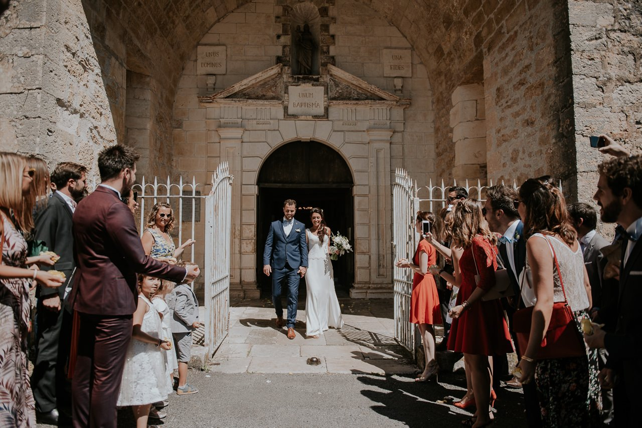 salida novios iglesia Turenne