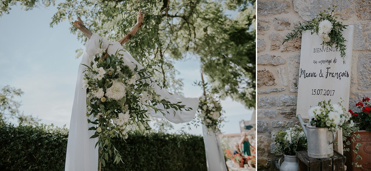 mariage Chateau de Turenne