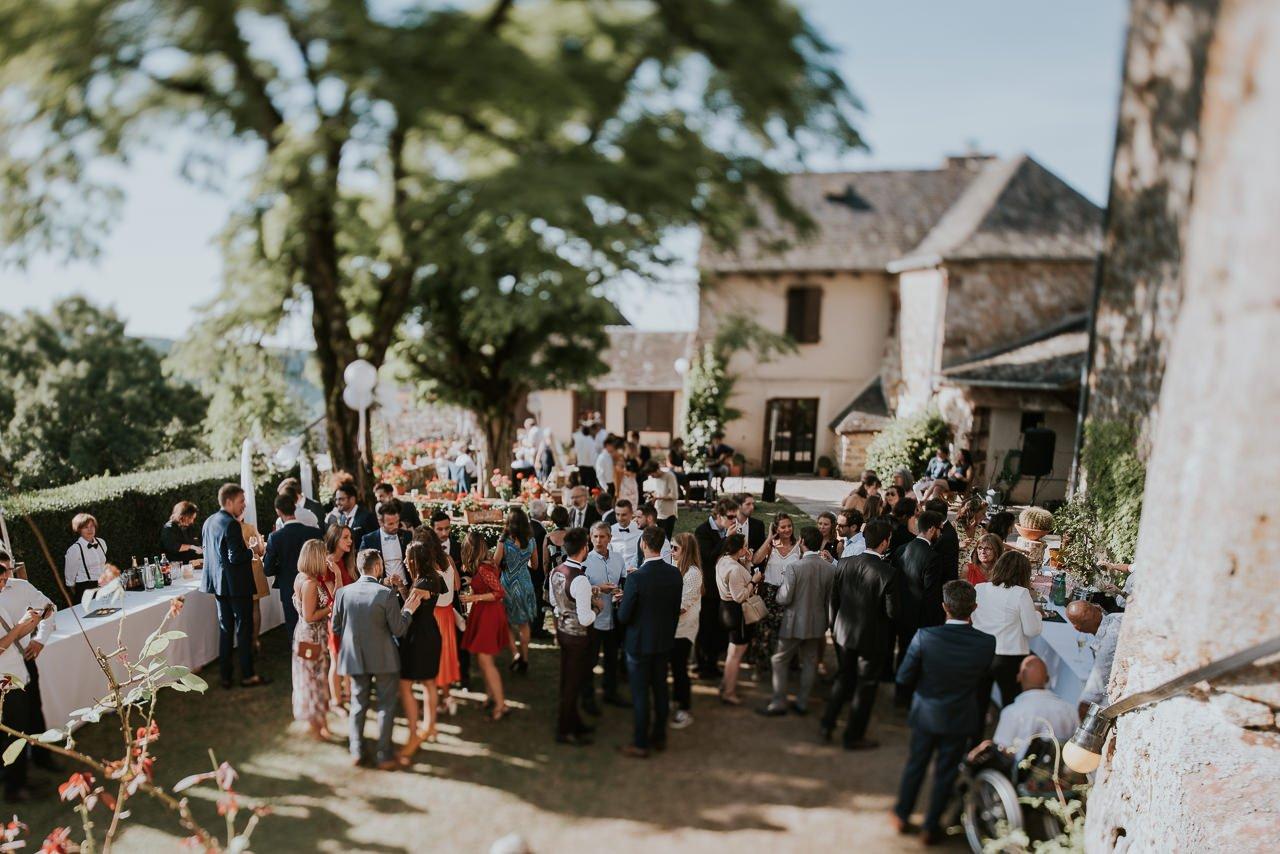 boda rural aire libre