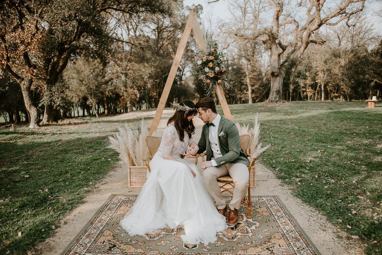 sesion natural fotografía de bodas