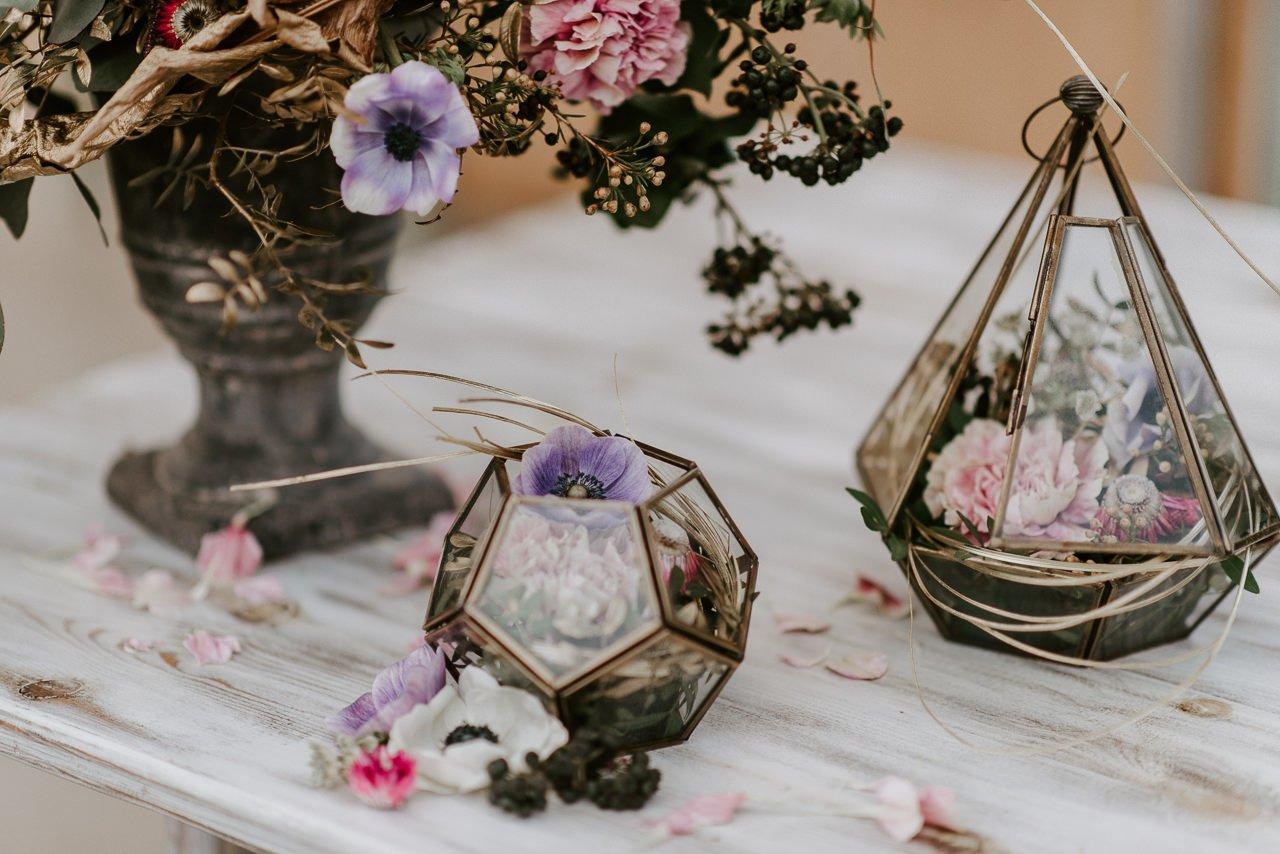 decoración con flores para bodas