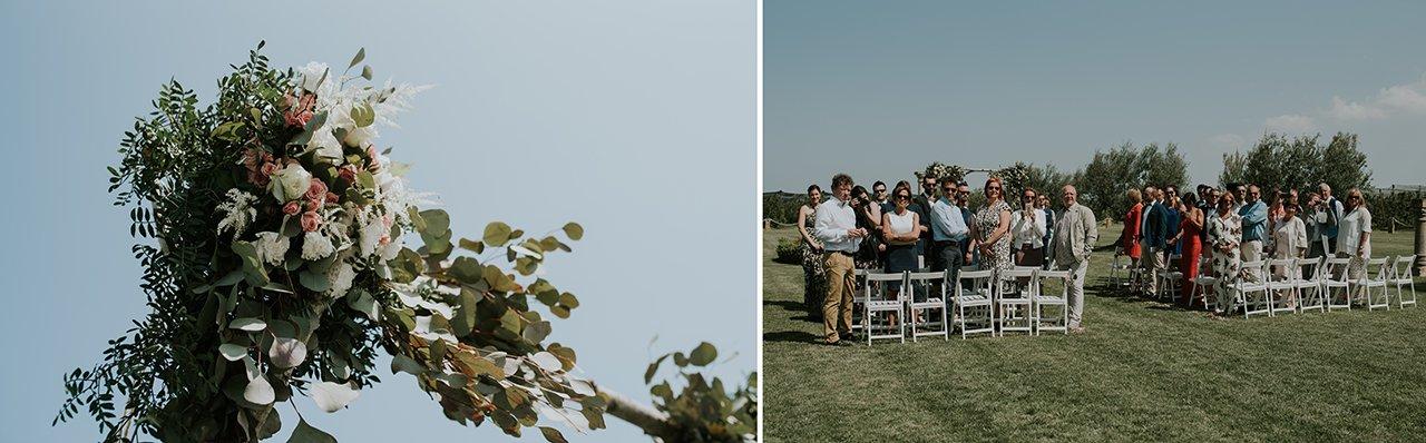 wedding in mas gusó l'escala