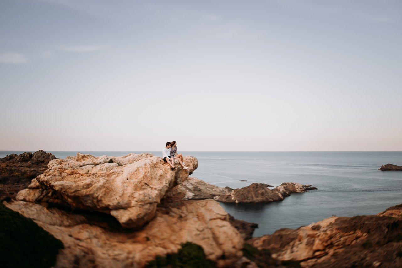 sesión en cap de creus. Fotógrafo de bodas en Girona