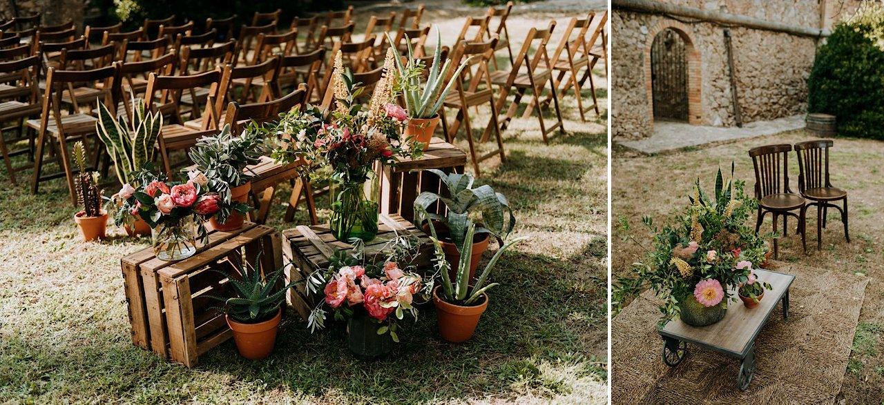 decoración floral ceremonia