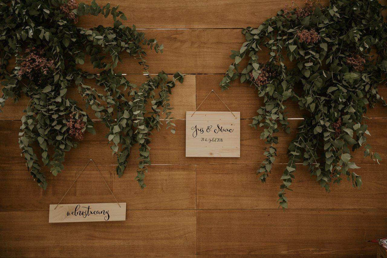 boda romántica en Girona