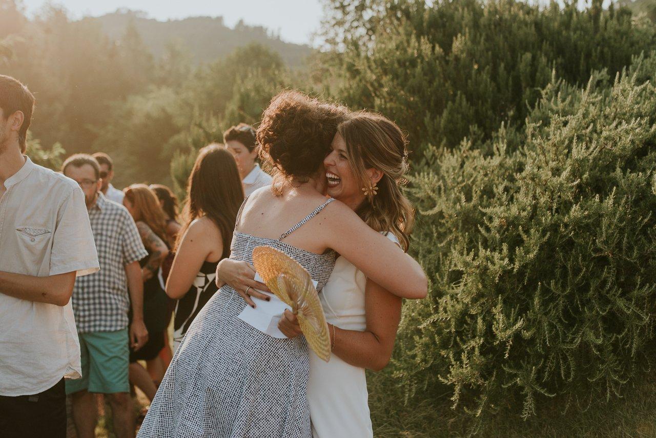 atardecer boda Can Riera de la Pineda