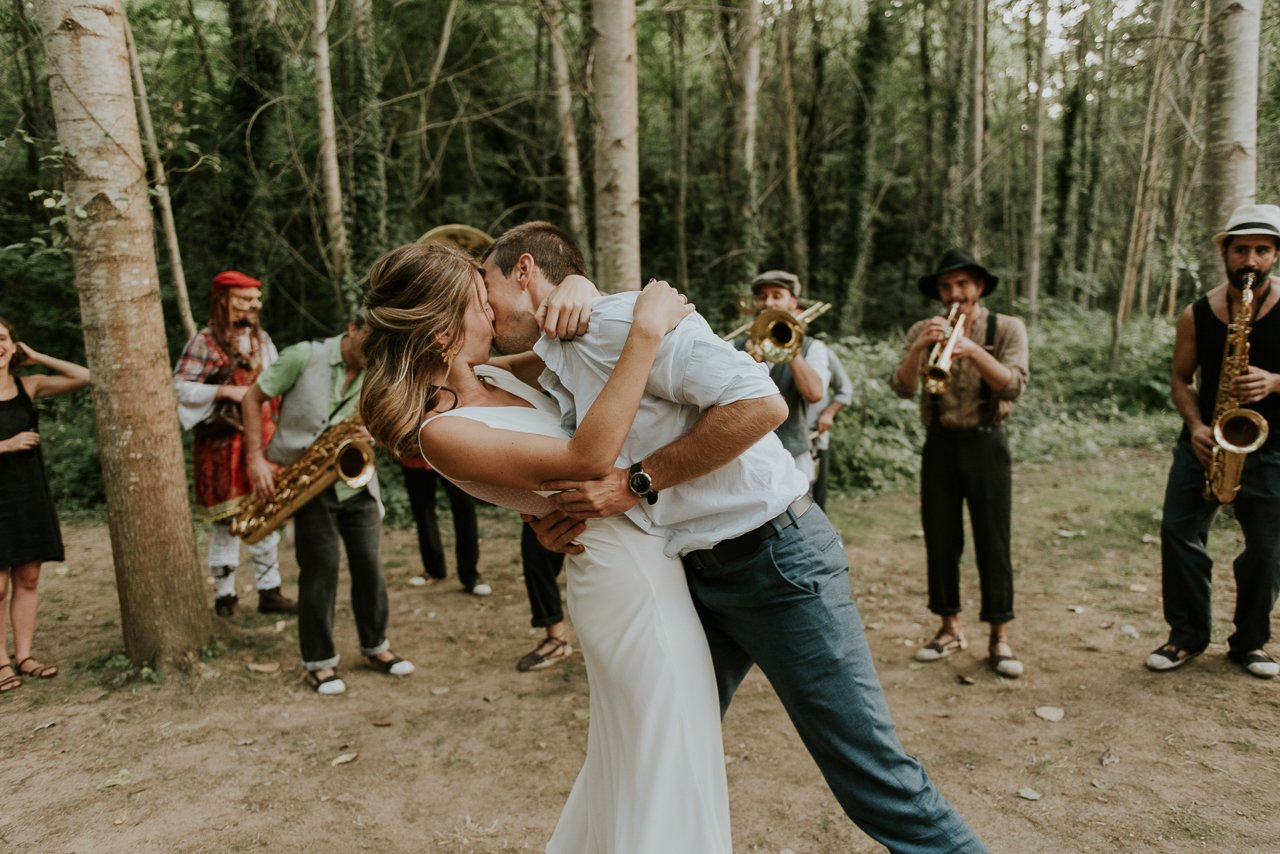 charanga para bodas en Can Riera de la Pineda