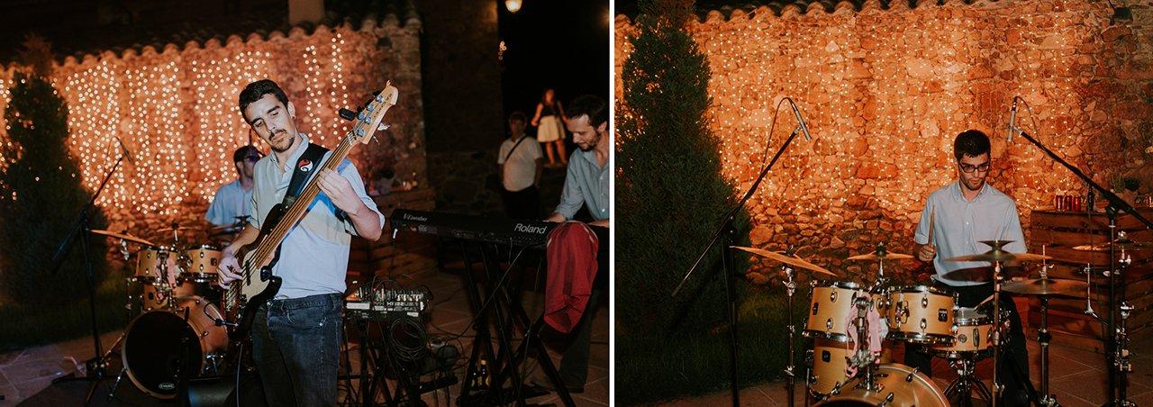 música en directo boda en Can Riera de la Pineda