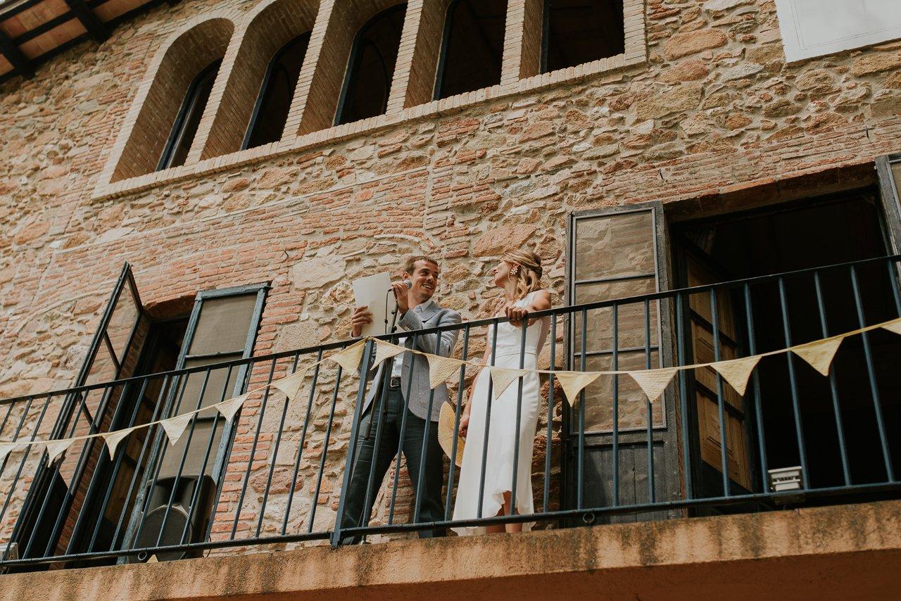 boda distinta en Can Riera de la Pineda